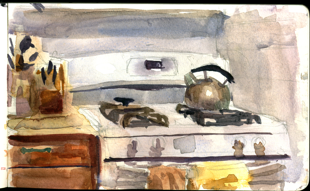 Oven Watercolor
